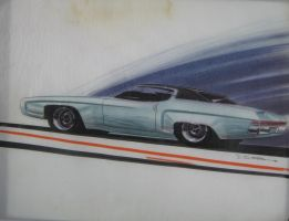 1969 Plymouth Fury proposal concept by cadillacstyle