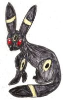Umbreon by kingofthedededes73