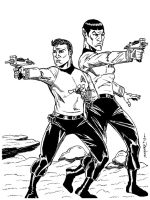 KIRK and SPOCK COMMISSION by FanBoy67