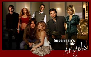 Red Superman's Little Angels by LadyKryptonite294