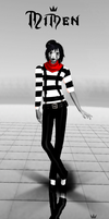 [MMD Newcomer] Mimen the Mime by Euphobea