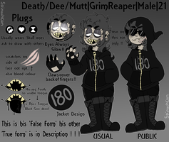 Dee || System Member Reference by SpinachCan