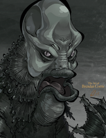 Creature from the Black Lagoon by BrendanCorris
