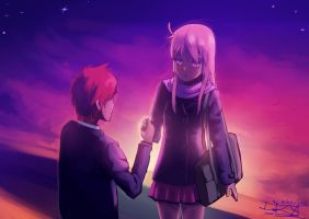 Valentine's Day in Sakurasou by Teal-Lorca