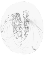 Loki and Sigyn: Wedding by StrawberryJule