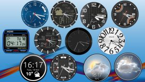 XWClocks Collection for xwidget by jimking