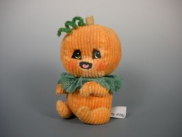 Little Pumpkin Teddy by WhittyKitty