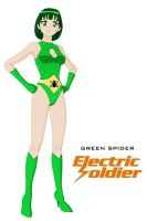 Green Spider - refined by Dangerman-1973
