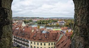 Regensburg Cathedral Panonama 1 by StefanEffenhauser