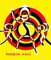 boogie soul postcard dsign by mR-StIck