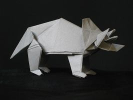 Triceratops by Art-in-Murder