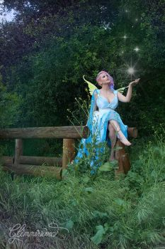 Zilla308 Making Pixie Magic in the Air Gown by glimmerwood