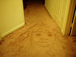Drawing of 2-D on the Floor by VML