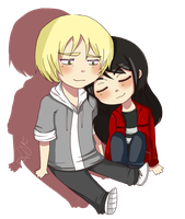CC Mike and Becky by d-u-d-i
