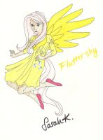 Human Fluttershy (updated) by singstargirl13