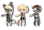 Mini Anthros Batch 1 (CLOSED) by Xecax