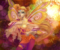Stella from the Winx Club by MPA-rt