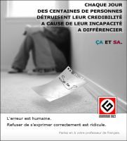 [ Grammar Nazi - Campagne de Prevention ] by Silver786