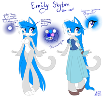 Reference: Emily Skyton by ApallonShinomia