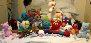 Crochet Pokemon Collection by Mr-Nova