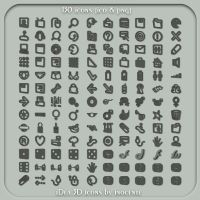 iDea 3D icons by INOCENTE