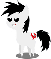 BBBFFJeff the Killer Pony by 123GirlKirby