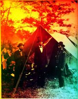 PRESIDENT LINCOLN IN COLOR HUE by GeneLythgow
