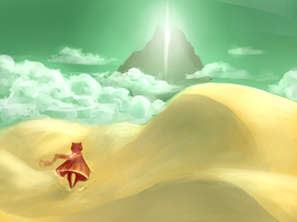 Journey - Speedpaint by Niellae