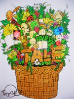 Fairy Tale Basket by FairyCoffee