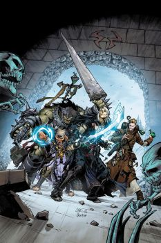 PATHFINDER: HOLLOW MOUNTAIN #2 COVER color by CarlosGomezArtist