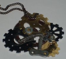 Steam Punk Ish Jewelry by Ember-lacewing