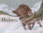 Uniboar Badge by thornwolf