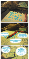 How To Use Very Small Color Pencils by colormymemory