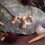 Custom Rune Bone Necklace by Elorhan