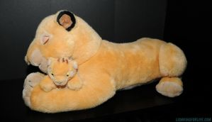 Sarabi with Simba Plush by LionKingForLife