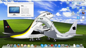 my awesome clean desktop by MacThe737