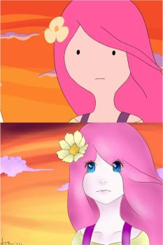 Princess Bubblegum -Scene Redraw- by mashedpotatos-rule