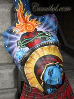 mayan mannequin front by cannibol