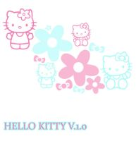 Hello Kitty Brushes 1 by wilmacki