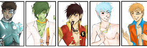 Titan Boys by Shinohahn-chan