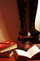 Socks: Stand on my imagination by liseva