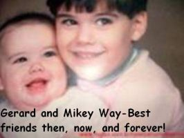 Gerard and Mikey Way by mickyway