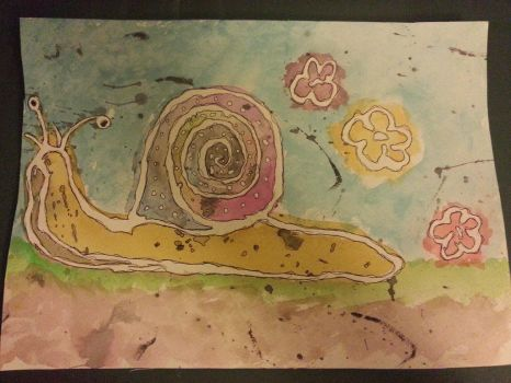 Snail Trail by Tiffany-Lathrop