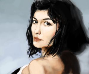 Audrey Tautou by loplop91