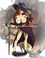 Sorceress Dragon's Crown by ChiiLissa