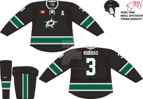 Dallas Stars Third FINAL by thepegasus1935