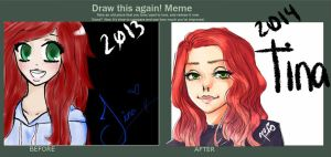 Before and After Meme by AmyAmateur
