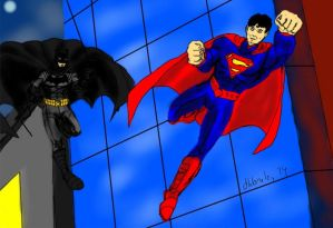 Worlds Finest-The New 52 by dhbraley