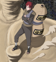 Naruto 524 - Gaara goes to war by ernie1991