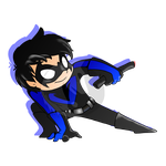 Nightwing by catching-dreamz